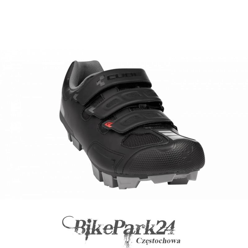 3a82b7a8 Buty rowerowe MTB CUBE CMPT czarne - Sklep Rowerowy BikePark24.pl