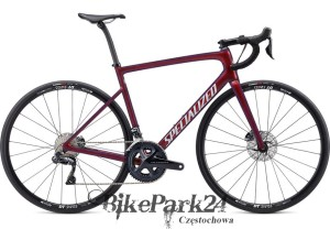 Rower Specialized Tarmac Disc Comp - Ultegra DI2 Gloss Cast Berry/Metallic Crimson/Dove Grey 2020