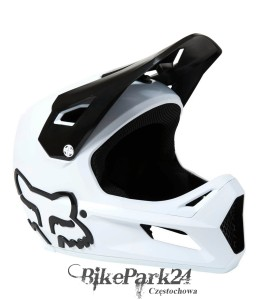 Kask Rowerowy Fox Rampage White 2021